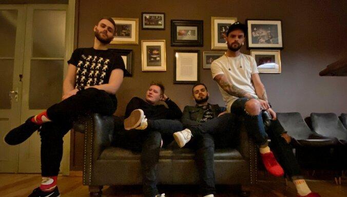 Pašmāju puišu grupa 'Touns' laiž klajā savu debijas albumu