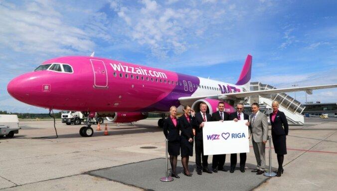 ФОТО: Wizz Air открыла в Риге базу и предлагает четыре новых маршрута