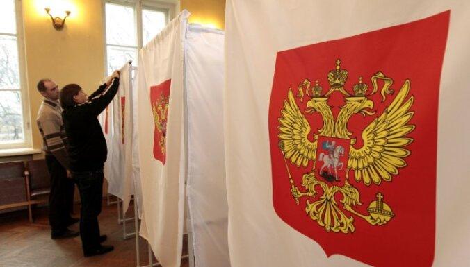 Igaunijā balsojušie Krievijas pilsoņi atbalstījuši 'Vienoto Krieviju'