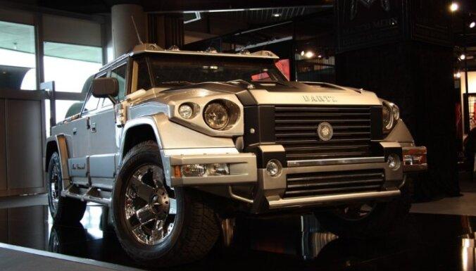 Ким Кардашьян купила латвийский автомобиль Dartz