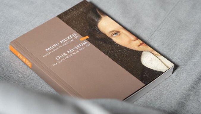 LNMM izdod Valsts mākslas muzeja simtgadei veltītu grāmatu