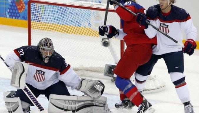 Сборная США в четвертьфинале остановила чехов