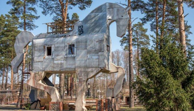 """ФОТО. """"Колотиловка"""" – необычное место для отдыха всего в шести километрах от Риги"""