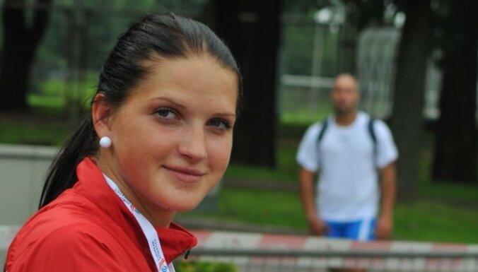 Šķēpmetēja Mūze izcīna sudraba medaļu Eiropas junioru čempionātā