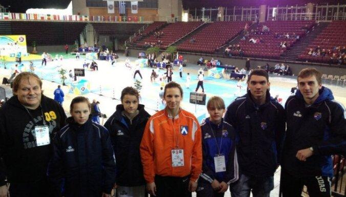 Латвийские таэквондисты завоевали на клубном ЧЕ золото и две бронзы