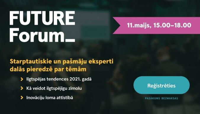 Pop-up konference 'Future Forum' iepazīstinās ar jaunākajām tendencēm