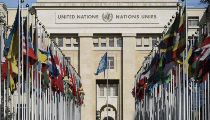 Sīrijas opozīcijas koalīcijas līderis ieradīsies uz sarunām Ženēvā