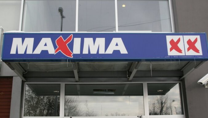 'Maxima' pirmā pusgada apgrozījums atpaliek no pērnā gada rādītājiem