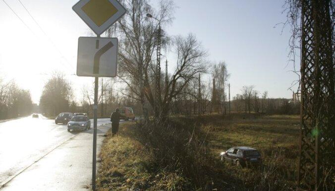 В автоаварии пострадала женщина с семилетним ребенком