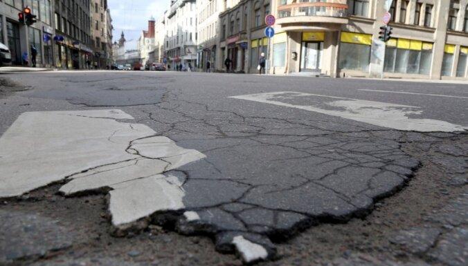 Рижская дума в этом году может не начать ремонт улицы Александра Чака