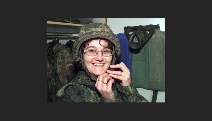 Немецкие женщины пошли в армию