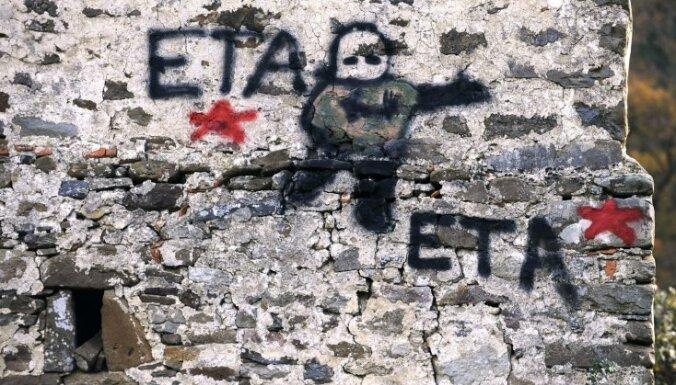 Francijā aiztur basku separātistu grupējuma ETA komandieri