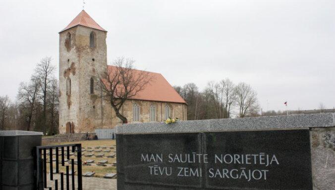 Aizsardzības nozares vadība godinās 236 uz Latviju pārvestos karā kritušos karavīrus