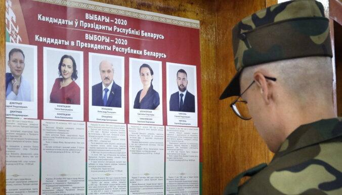 Baltkrievijā internetā noplūdis iecirkņa vēlēšanu komisijas 'balsu skaitīšanas mēģinājums'
