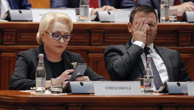 Kritusi Rumānijas valdība