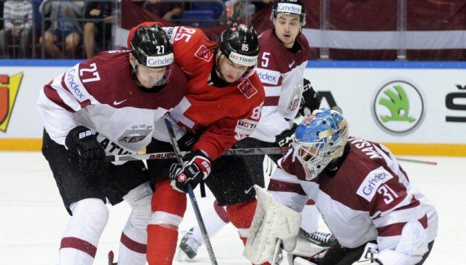 ФОТО, ВИДЕО: Как сборная Латвии отыграла фору в три шайбы и проиграла