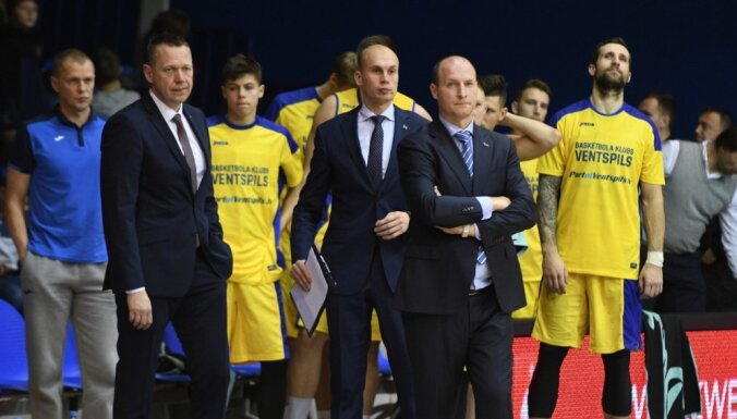 'Ventspils' grūtā spēlē uzvar 'Ogri' un turpina LBL čempionātu bez zaudējumiem