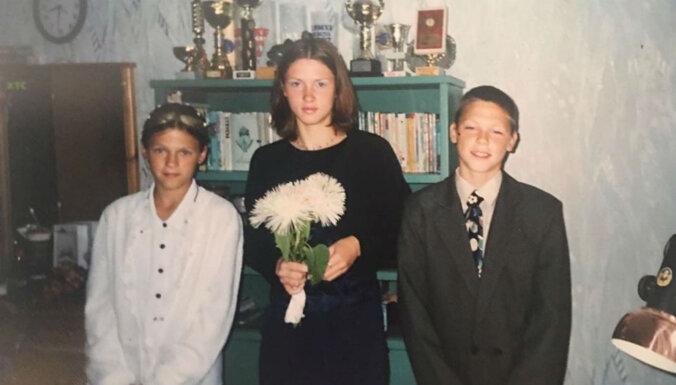 Foto: Kā skolas gados izskatījās divkārtējais olimpiskais čempions Štrombergs