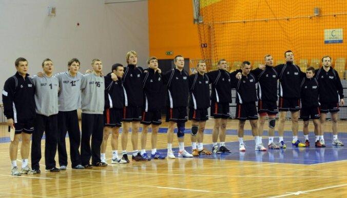 Latvijas handbola izlase PČ kvalifikācijas turnīram kandidātu sarakstā iekļauj trīs debitantus