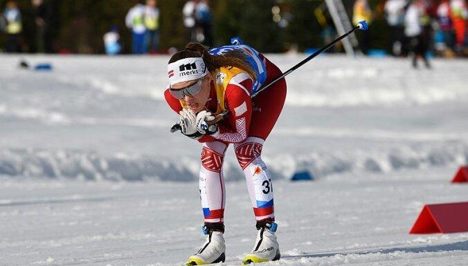 Slēpotāja Eiduka PK posmā Somijā 10 kilometru klasikā ieņem 53. vietu