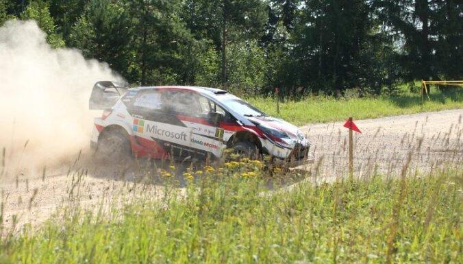 Foto: 'Rally Estonia' uzvar Tanaks; Nitišam spēcīgā konkurencē 16.vieta