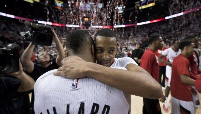 Portlenda pieveic 'Clippers' un iekļūst izslēgšanas spēļu otrajā kārtā