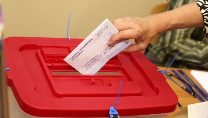 На досрочных выборах в Европарламент проголосовало 2,5% латвийцев