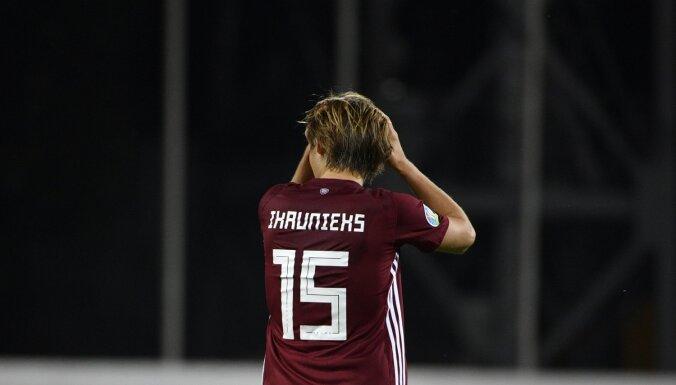 Latvijas futbola izlase tuvojas savam antirekordam FIFA rangā
