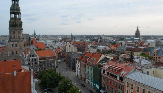Rīga, Jūrmala, Ogre – līderes starp 20 Latvijas visblīvāk apdzīvotajām vietām