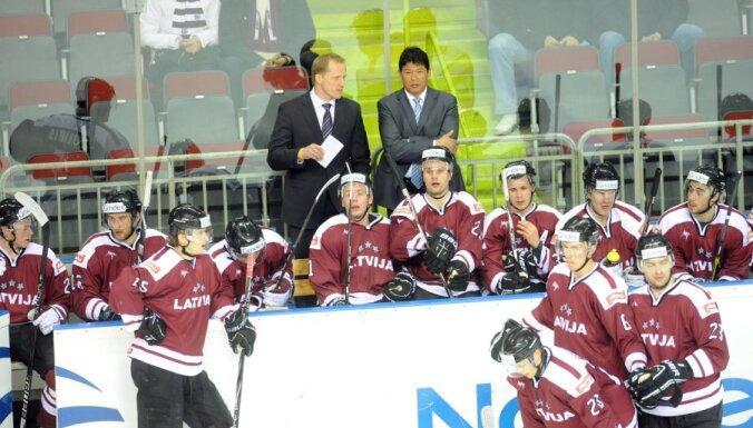 Состав сборной Латвии на ЧМ-2012 Нолан назовет 2 мая