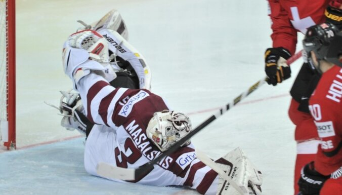 Masaļska fenomenālais sniegums atnes Latvijai dramatisku uzvaru