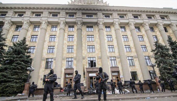 Генконсульство России в Харькове забросали петардами
