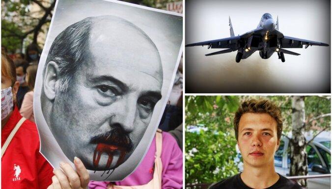 'Delfi plus': Nolaupītā lidmašīna, Ezras cīņa ar leikēmiju, vakcinācijas plāni A un B