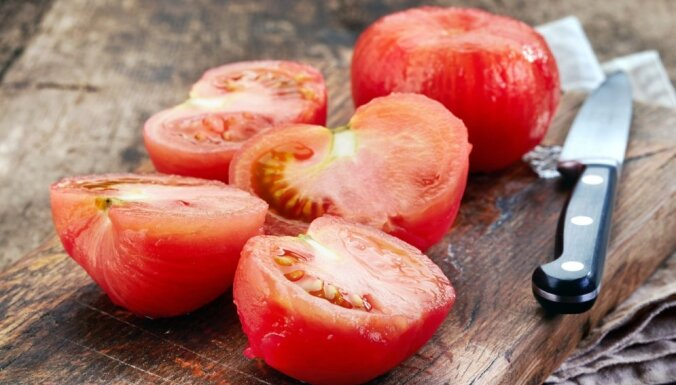 Kā pareizi blanšēt tomātus
