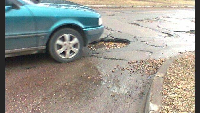 На главных автодорогах закончен ремонт ям