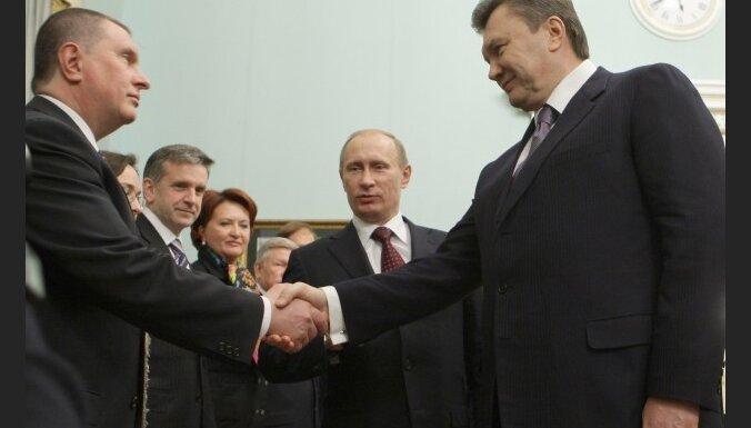 Putins aicina Ukrainu iestāties Muitas ūnijā