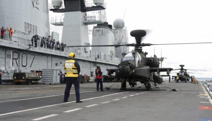 Британские корабли помогут бороться с потоком мигрантов