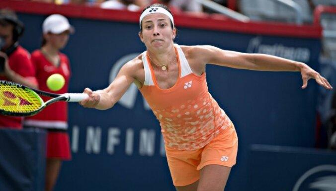 Севастова третий год подряд пробилась в четвертьфинал US Open
