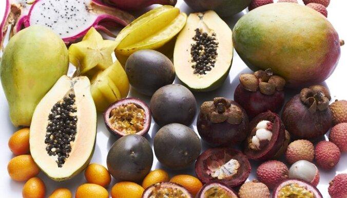 TOP 9 eksotiskie augļi - orientējies, ko pērc!