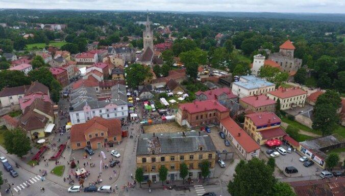 Президенты Латвии и Эстонии, а также высокопоставленные лица отмечают столетие Цесисской битвы