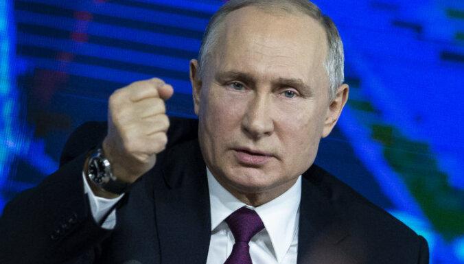 Путин: наши спортсмены применяли допинг, но не на государственном уровне