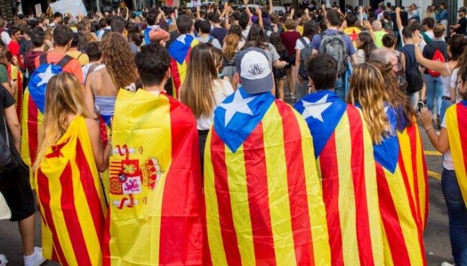 Акции сторонников независимости Каталонии переросли в беспорядки