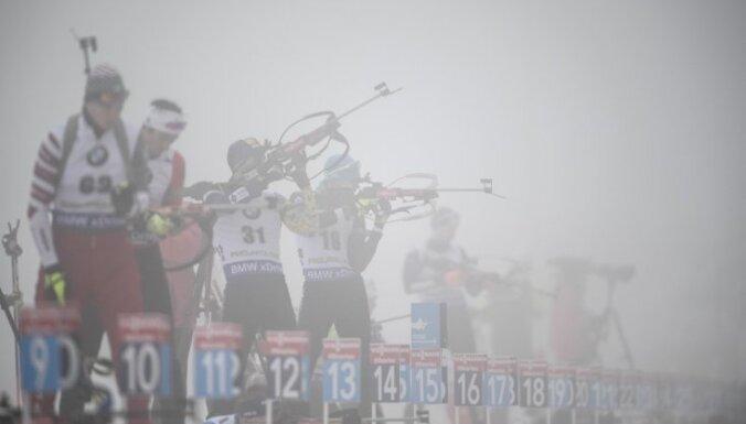 Covid-19 skar biatlona un distanču slēpošanas pasaules tūres