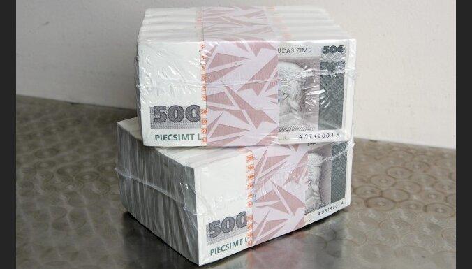 Дефицит бюджета за полгода— 457,7 млн. латов