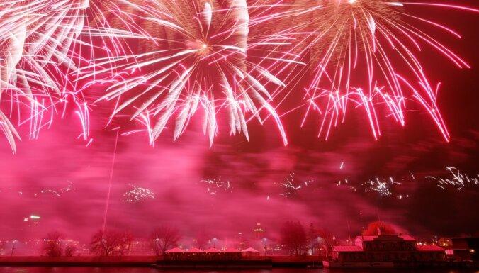Правительство запретило самоуправлениям устраивать салюты на Новый год
