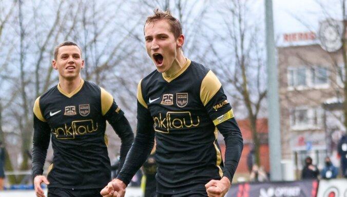 'Valmiera' vienīgajā pirmdienas virslīgas spēlē pārliecinoši uzvar 'Spartaku'