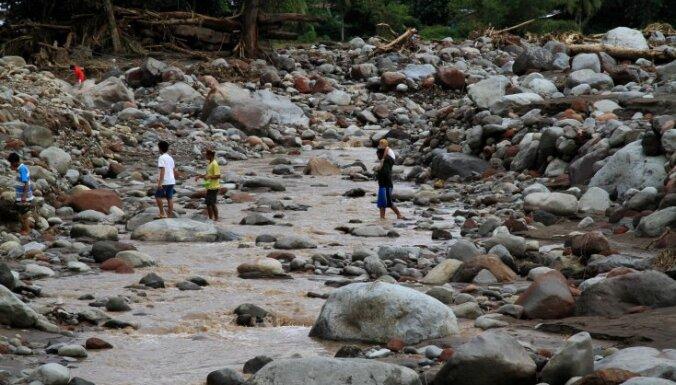 Taifūnā 'Tembin' Filipīnās 230 bojāgājušie, 120 pazudušie
