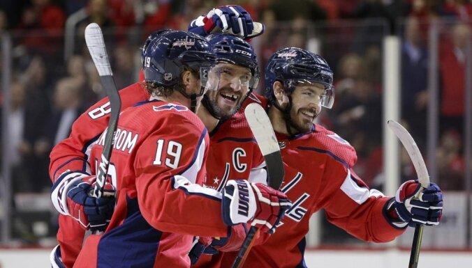 Ovečkins kļūst par rezultatīvāko Krievijas hokejistu NHL