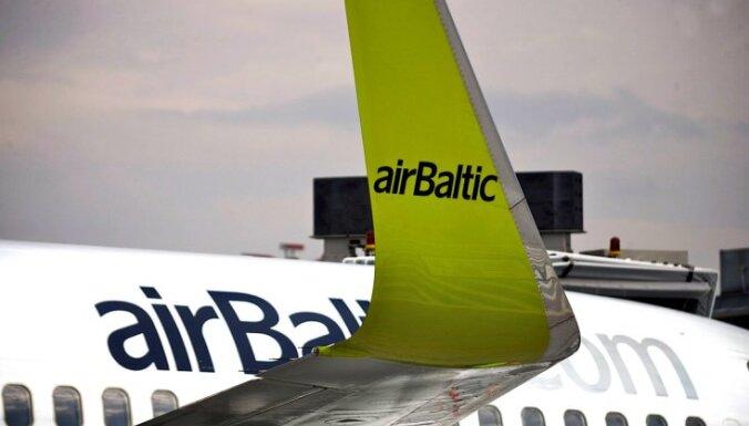 'airBaltic' Lieldienās atceļ reisus uz un no Briseles