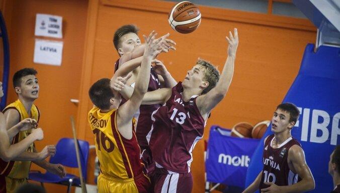 Latvijas U-16 basketbolisti Eiropas čempionāta apakšgrupu turnīru noslēdz ar vēl vienu zaudējumu